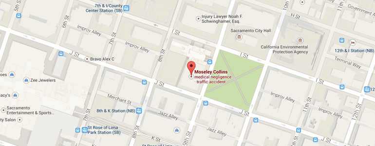 Map of Moseley Collins