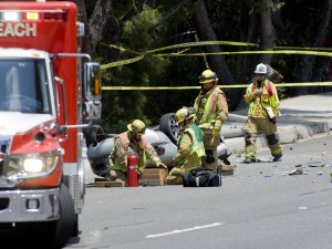 Two Drivers and A Bicyclist Injured in Head-On Crash Near Calistoga